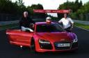 Audi R8 e-tron Nurburgring Lap Starting Line