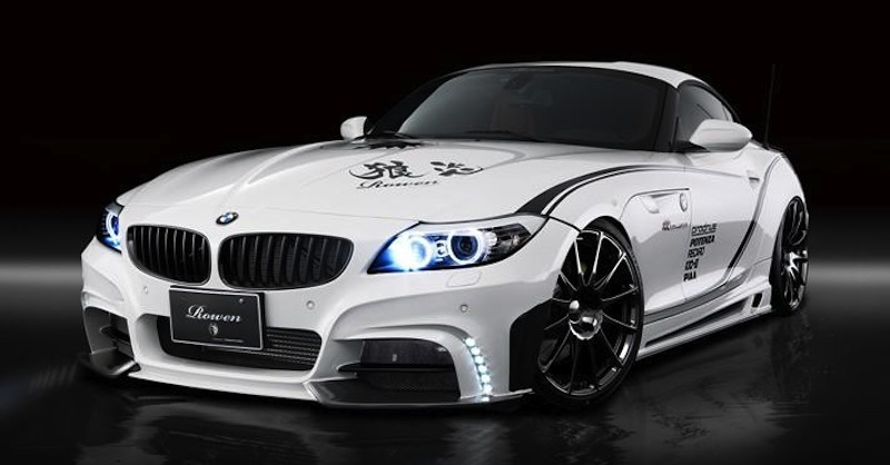 Rowen BMW Z4 White Wolf Front 3/4 View