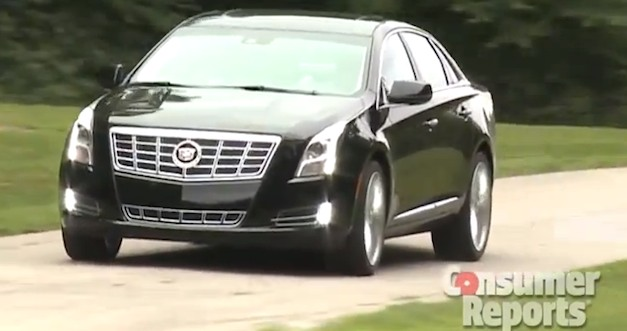 Consumer Reports says 2013 Cadillac XTS misses its target