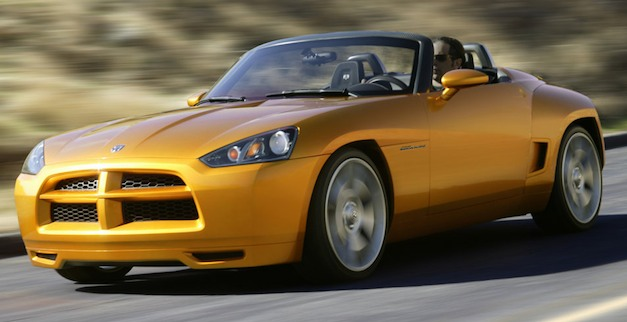 Report: Chrysler's new SRT brand looking at new Barracuda, two-seat roadster