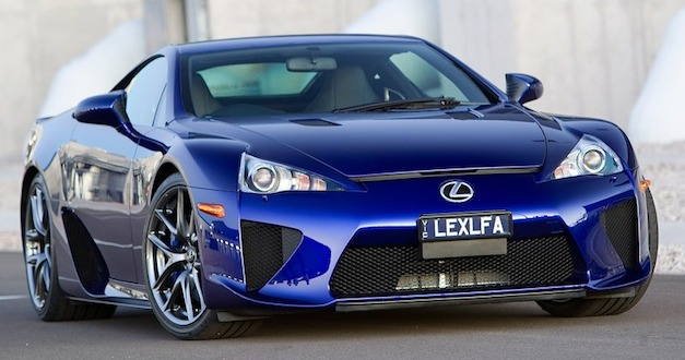 Last of the 500 Lexus LFA was produced on Dec. 14