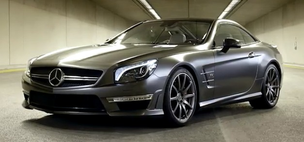 Video: Mercedes-Benz SL65 AMG 45th Anniversary Edition makes grown men cry
