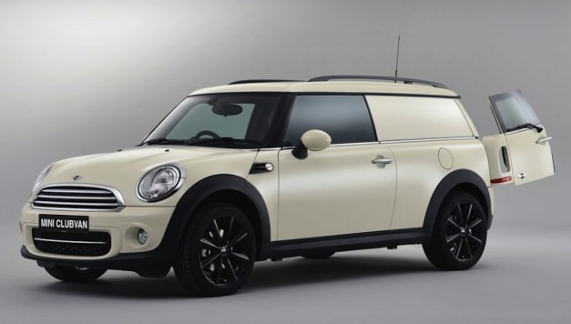 MINI Clubvan unveiled, becomes 'world's first premium compact delivery van'