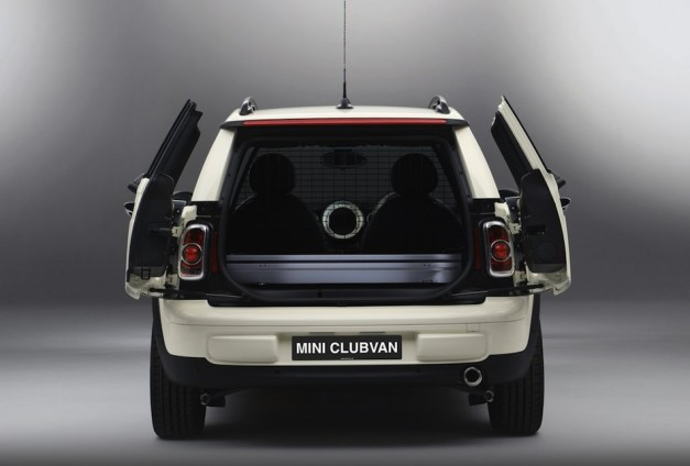 Mini Clubvan Rear View Doors Open