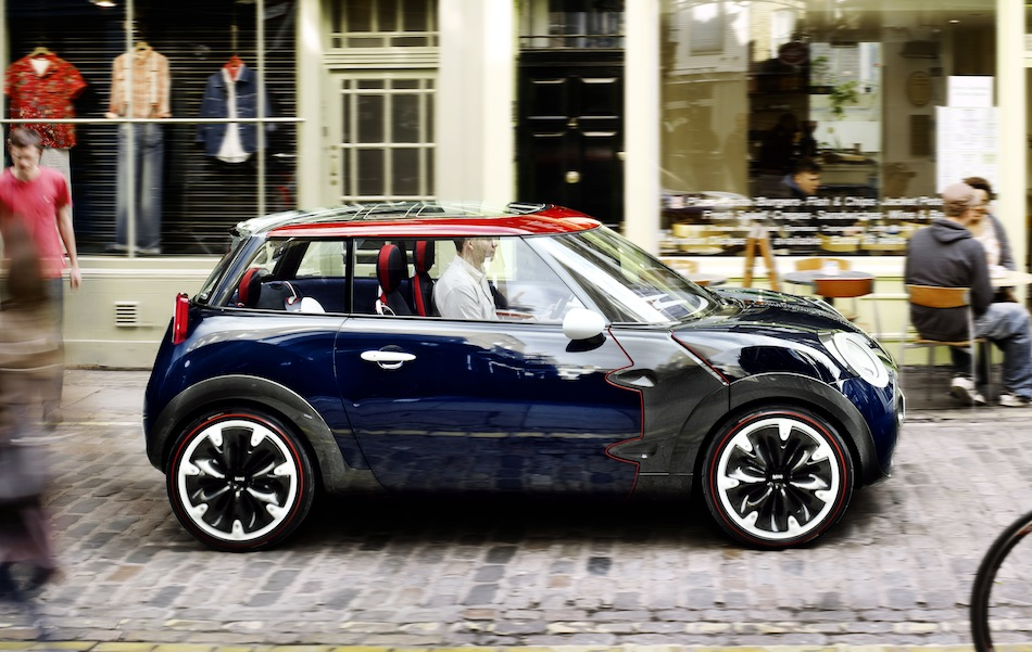 Mini Rocketman Britain Concept Side View