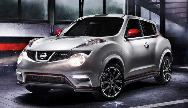 nissanjukenismoproduction 01 627x359 Nissan Juke NISMO isnt Juke R fast, but has the sporty looks