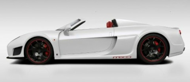 Noble M600 Roadster Rendering