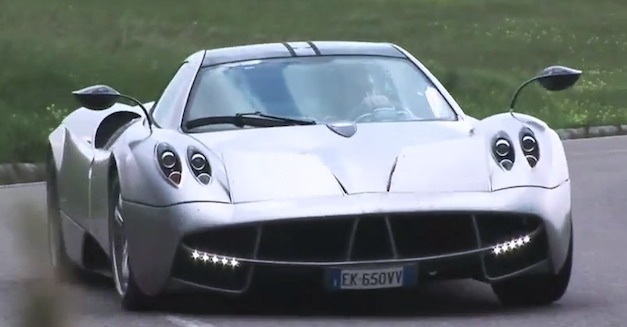 Video: EVO Magazine test drives the Pagani Huayra