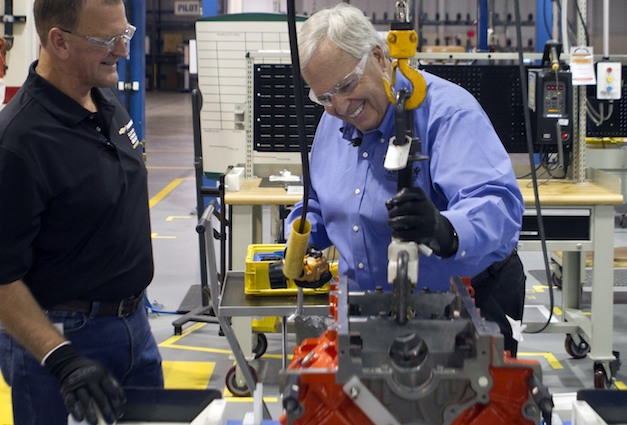 Rick Hendrick builds a custom engine for 2012 COPO Camaro (w/ Video)