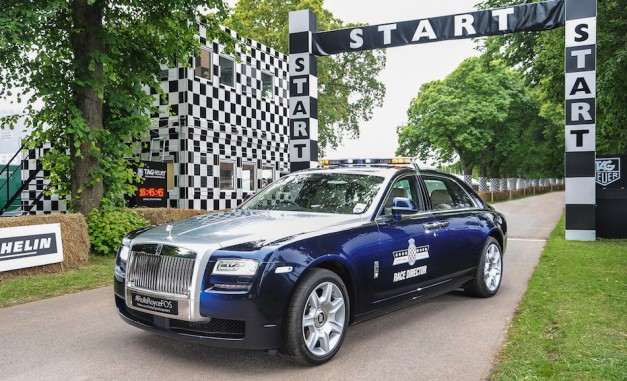 Rolls-Royce Ghost Extended Wheelbase to lead Goodwood Hill Climb