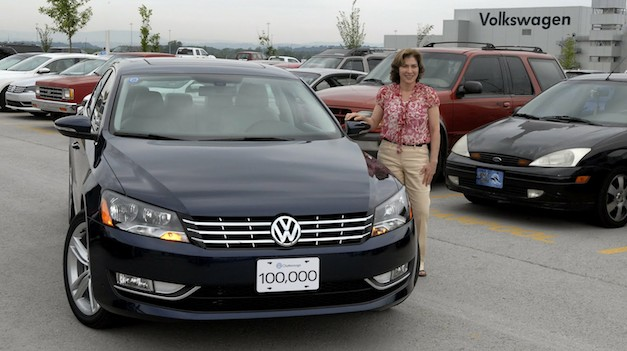 Volkswagen Passat 100,000th