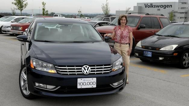 Volkswagen Passat 100,000th