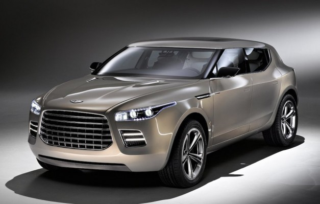 Report: Aston Martin's desired Lagonda sedan and DBX crossover should arrive in 2019