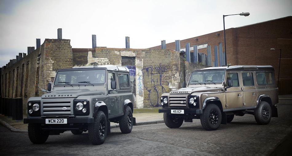 2012 Land Rover Defender 90 and 110 X-Tech Street Corner