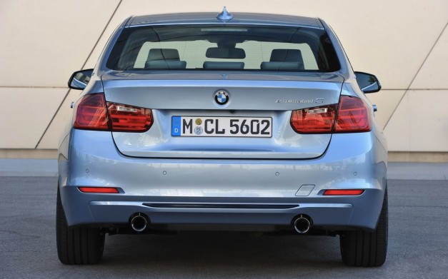 2013 BMW ActiveHybrid 3 Rear Angle