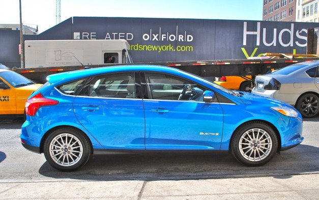Quick Spin: 2012 Ford Focus Electric Side View