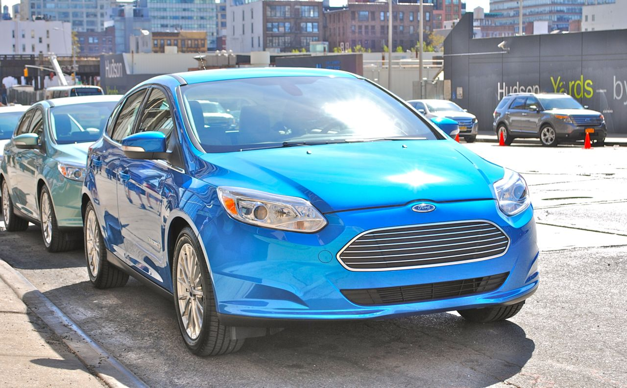 Quick Spin: 2012 Ford Focus Electric Front 3/4 View