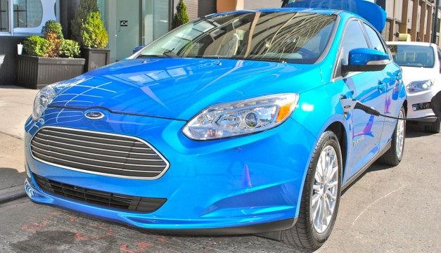 Quick Spin: 2012 Ford Focus Electric Front Quarter Angle