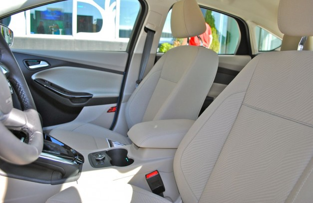 Quick Spin: 2012 Ford Focus Electric Front Seats