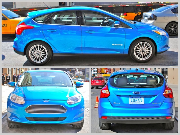 2012 Ford Focus Electric Exterior
