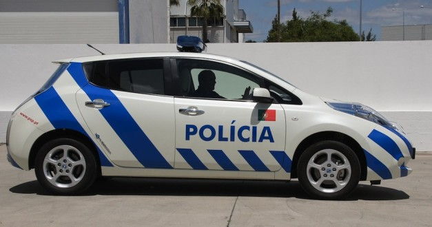 2012 Nissan LEAF Police Side View