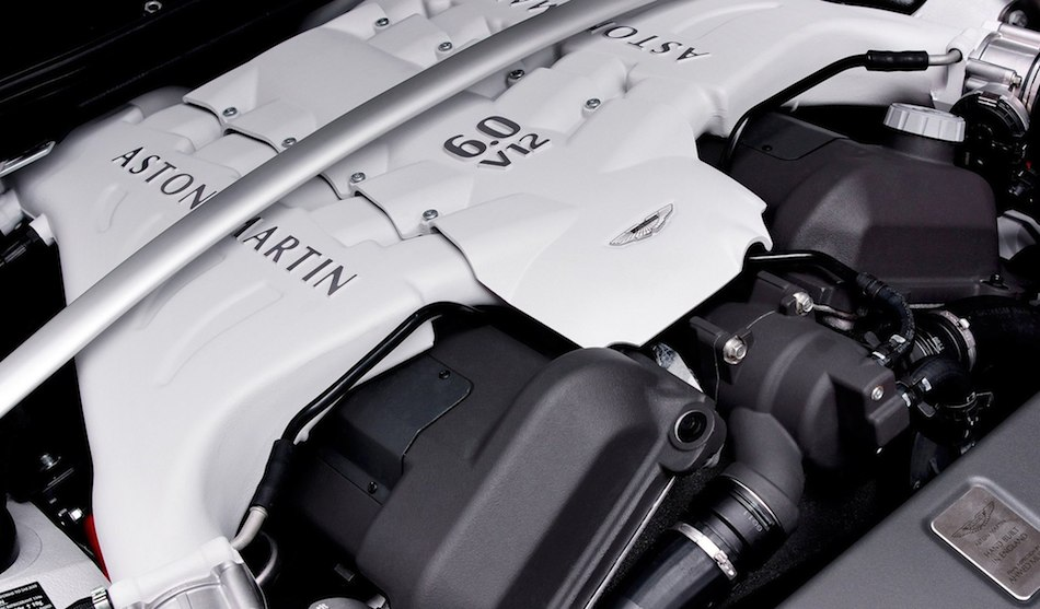 2013 Aston Martin V12 Vantage Roadster V12 Engine