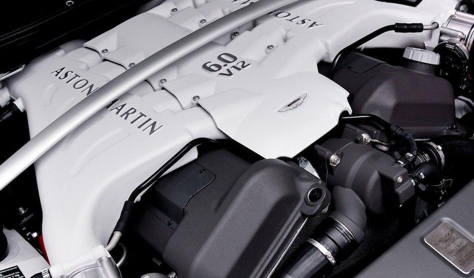 2013 Aston Martin V12 Vantage Roadster V12 Engine