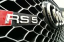 2013 Audi RS5 Grill Closeup Shot