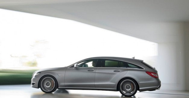 2013 Mercedes-Benz CLS63 AMG Shooting Brake Left In Motion