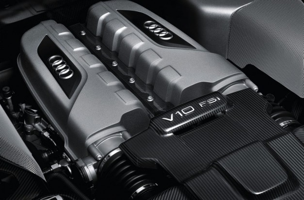 2013 Audi R8 V10 Plus Engine
