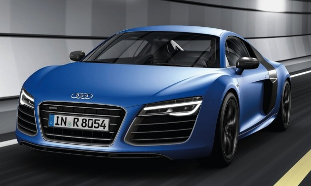 2013audir8v10plus 03 627x375 New top of the range 2013 Audi R8 V10 Plus makes 550 hp