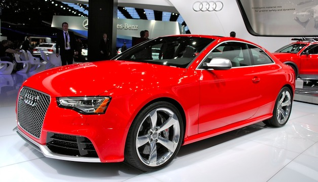 2013audirs5sideview 2013 Audi RS5 price starts at $68,900