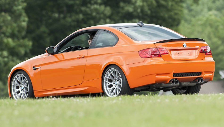 2013 bmw m3 coupe lime rock park edition rear 7 8 view egmcartech. Black Bedroom Furniture Sets. Home Design Ideas