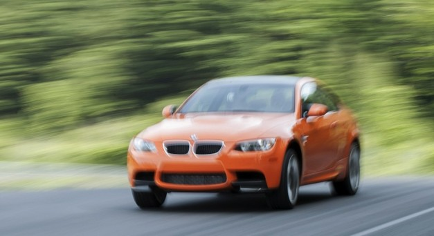 2013 BMW M3 Coupe Lime Rock Park Edition Action