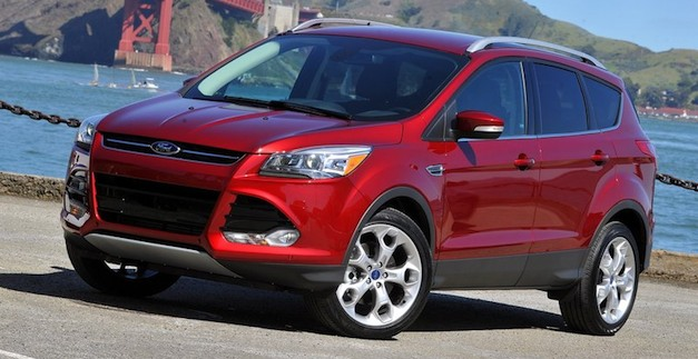 2013fordescapered Report: Ford recalling 2013 Escape over brake issue