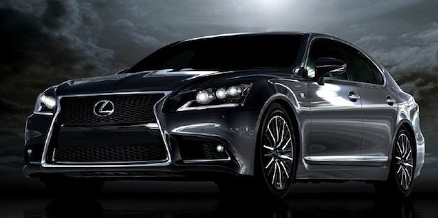 2013 Lexus LS first official image hits Facebook