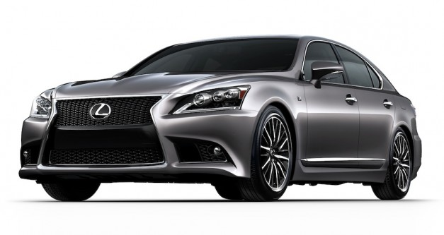 2013 Lexus LS 460, 600h L and LS 460 F SPORT revealed