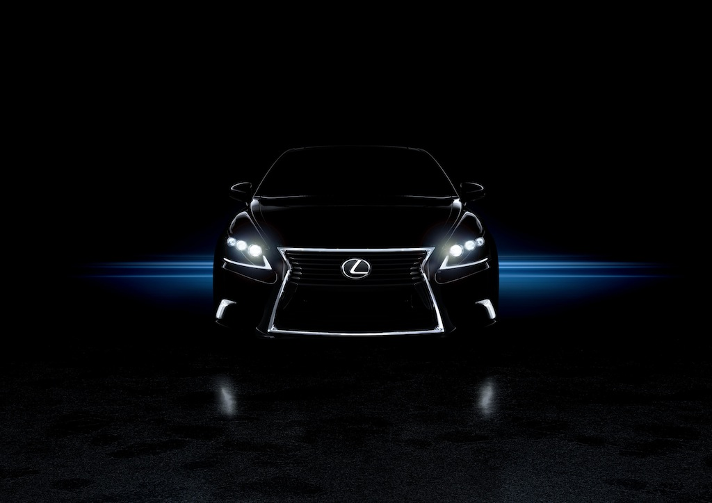 2013 Lexus LS 460 F SPORT Front Full Shot