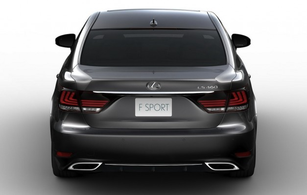 2013 Lexus LS 460 F Sport Leak Rear