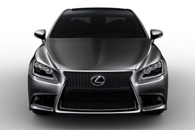 2013 Lexus LS images get leaked before July 30 debut