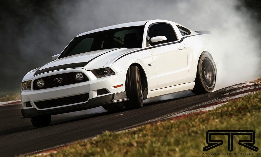 2013 Mustang RTR Drifting