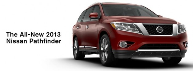 Production 2013 Nissan Pathfinder shows up on Facebook