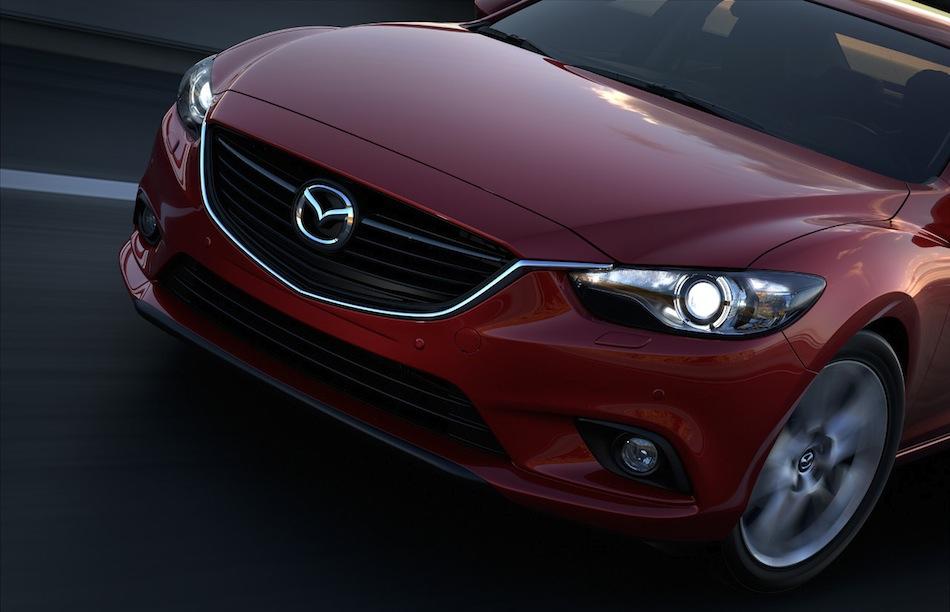 2014 Mazda6 Front Teaser