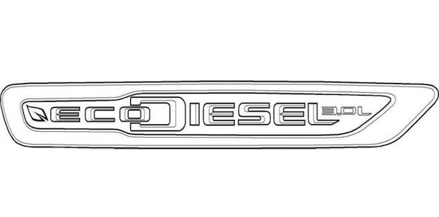 "Chrysler EcoDiesel 3L Trademark Report: Chrysler also files for ""EcoDiesel"" badge for US bound diesel powered models"