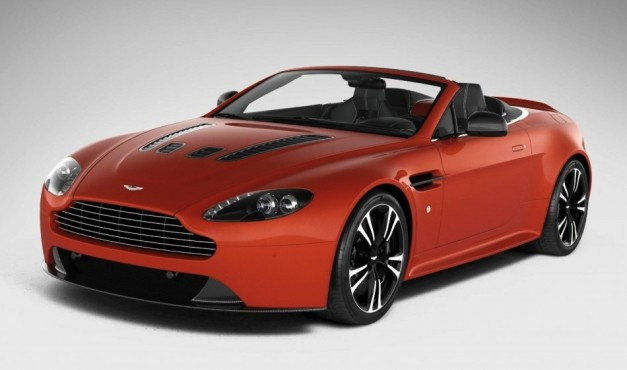 2013 Aston Martin V12 Vantage Roadster, drop-down awesomeness with 512-hp
