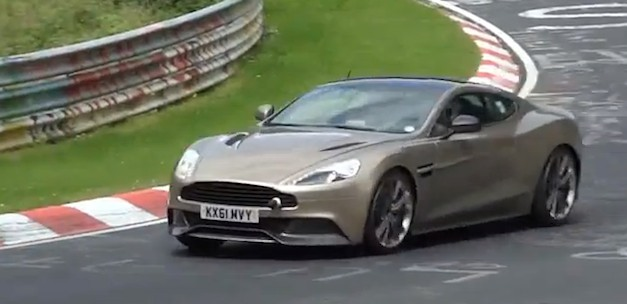 Video: 2013 Aston Martin Vanquish AM310 hits up the Nurburgring
