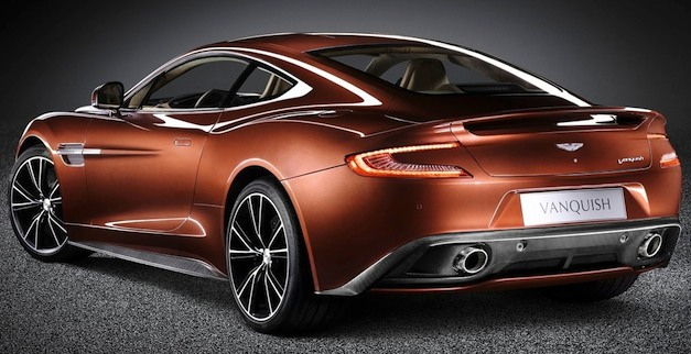 astonmartinvanquishrear Report: Aston Martin CEO says he's open to using small engines