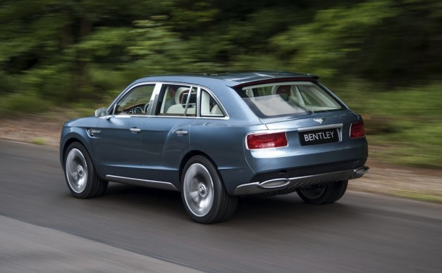 Report: Bentley EXP 9F close to final production decision, next Continental GT due by 2016