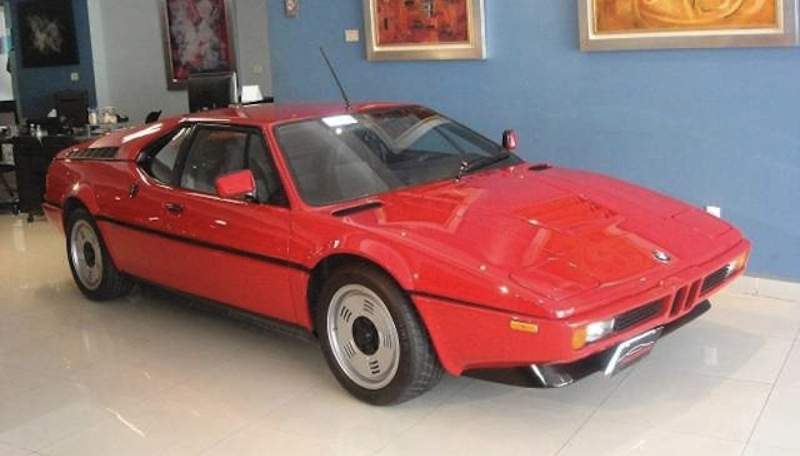 1980 BMW M1 Coupe Front 7/8 View