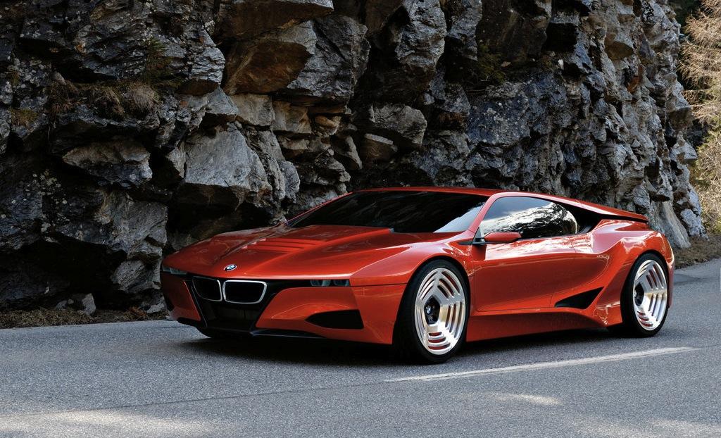 BMW M1 Hommage Concept Front Quarter View